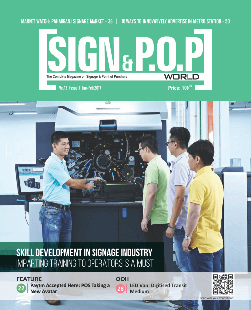 Skill Development in Signage Industry: Imparting Training to Operators is a Must