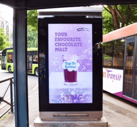 Interactive OOH Campaign