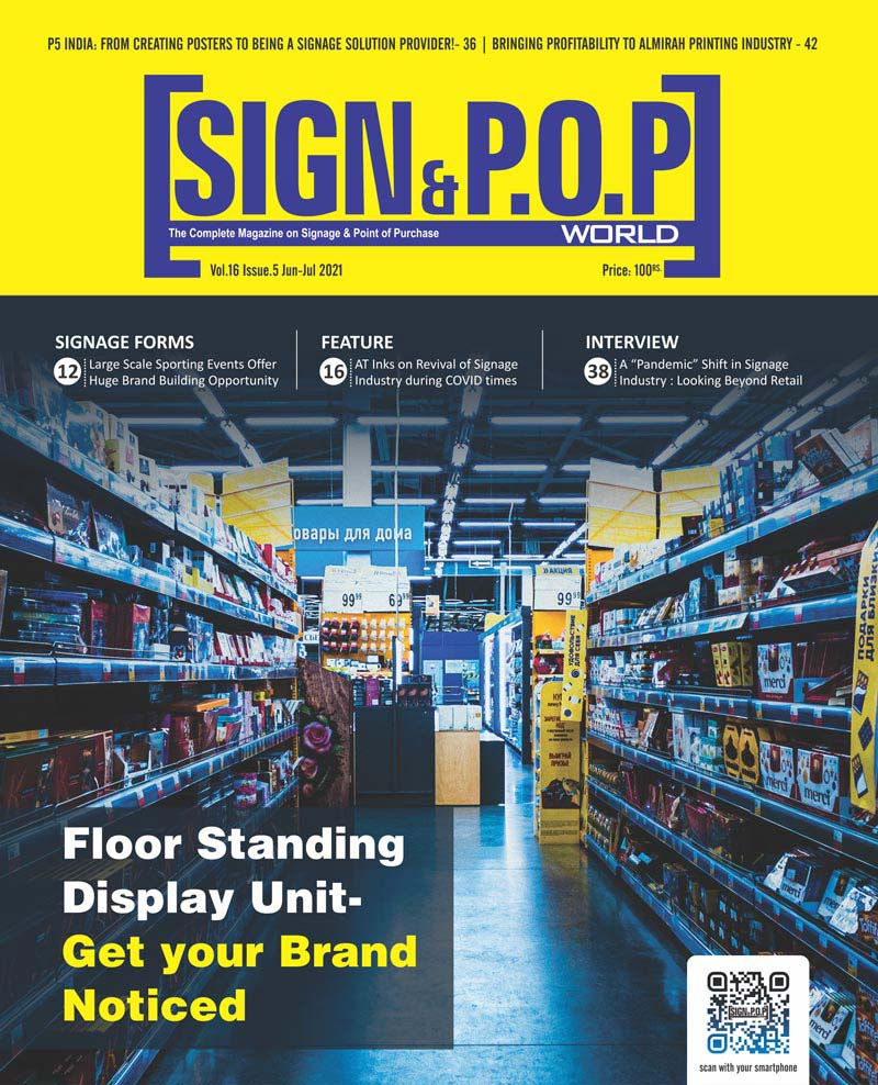 Floor Standing Display Unit- Get your Brand Noticed!